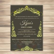 lohri invitation cards entry 9 by mahbub0797 for baby lohri invitation card design