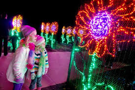 Holiday Brilliant Spectacular Light Show by Atlanta Botanical Gardens Transformed Into Winter Wonderland Gac