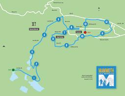 Mammoth Map Mammoth Half Marathon San Diego Healthy Living