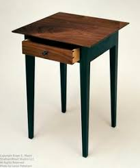 shaker style side table shaker style end table i love the simplicity of this table for