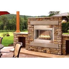 Vent Free Lp Gas Fireplace by Empire Olp42fp72s 42 Inch Loft Outdoor Vent Free Natural Gas