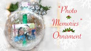 diy photo memories ornament gift for someone special