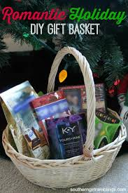 a romantic gift basket to spice up the holidays from mom u0027s desk