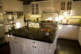 Black Granite Kitchen by How To Measure Granite Countertops Dimensions For Recent Kitchen