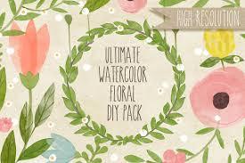 diy wedding invitations floral creative market blog