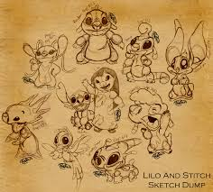 lilo and stitch favourites by onelovedrew on deviantart