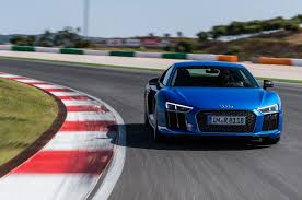 watch the audi r8 v10 plus wec safety car execute a perfect drift