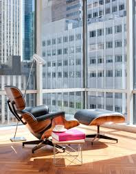 eames chair side table eames chair table living room midcentury with wood flooring floor