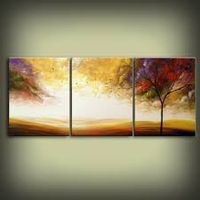 Oversized Wall Art by Original Abstract Landscape Painting Huge 48