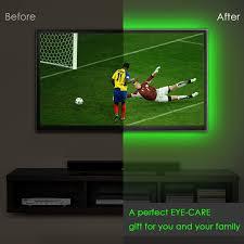 under cabinet led strip lights kit amazon com deepdream led strip tv backlight bias lighting 4 9ft