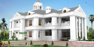 colonial model luxurious home kerala home design and floor plans