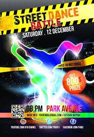 street dance championship poster template psd free u2013 over millions