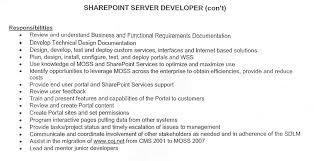 sharepoint server developer