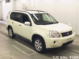 2009 nissan x trail pearl white for sale stock no 51204