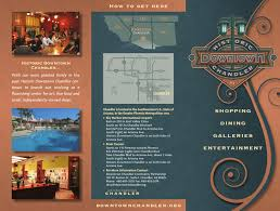 El Zocalo Mexican Grille by Chandler Downtown Map By Publication Layout Issuu