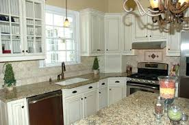 Painted Kitchen Cabinets White How Paint Kitchen Cabinets White Size Of White Painted Oak