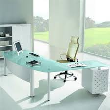 Glass Office Desks Glass Top Office Desk Home Design Ideas And Pictures