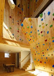 WALL CLIMBING INSIDE HOME Architecture  Interior Design - Home rock climbing wall design