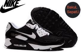 Sepatu Nike Air nike air max 90 mens running shoe blackwhite color bakoel sepatu