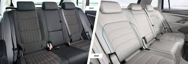 volkswagen tiguan white interior volkswagen tiguan old vs new compared carwow