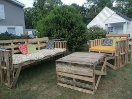 Wooden Pallet Furniture Wooden Pallet Outdoor Furniture Ideas Pallet Furniture Ideas For