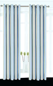 White And Blue Striped Curtains Wide Striped Curtains Ipbworks