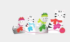 moma christmas cards cat christmas card selection time notso