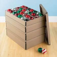 christmas ornament storage box real simple 112 count ornament storage provides convenient