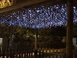 christmas icicle lights outdoor sacharoff decoration