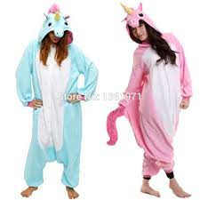 wholesale unicorn pink blue purple flannel costume footie onesie