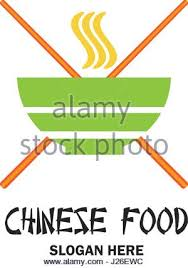 chinese restaurant chinese food logo with text space for your