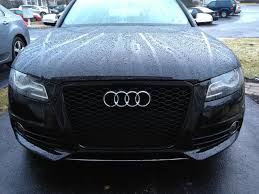 audi a4 b8 grill upgrade b8 s4 bumper removal and grill replacement