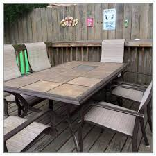 ceramic tile top patio table tile patio table marvelous tile top patio table set outdoor patio