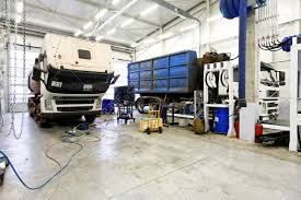 Big Car Garage by Interior Shot Of Big Truck Service Garage Stock Photo Picture And