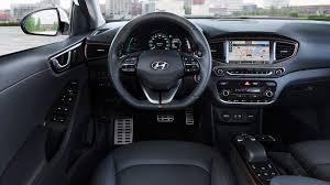 nissan leaf 2016 interior hyundai ioniq 2016 hybrid and electric review by car magazine