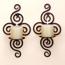 decorative wall candle holders – Home Decoration