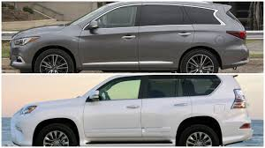 infiniti qx56 vs mercedes gl450 2016 infiniti qx60 vs lexus gx 460 youtube