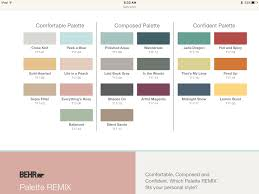 color palette for home interiors interior design behr interior paint color palette remodel