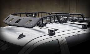 infiniti qx56 luggage carrier go rhino sr roof rack gorhino safari basket w lights