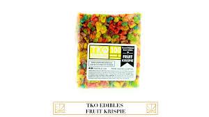 fruit edibles tko edibles fruit krispie goods merry