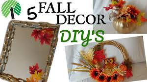 Dollar Tree Decorating Ideas 5 Dollar Tree Fall Decor Ideas Chain Link Mirror Wreath U0026more