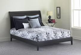 Black Platform Bed Java Platform Bed Black