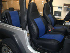Jeep Wrangler Leather Interior Iggee Seat Covers Jeep Wrangler Ebay