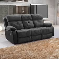 3 Seater Leather Recliner Sofa Faux Leather Recliner Sofa Russcarnahan Things Mag Sofa