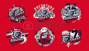 design for printing on t shirts aggressive wolf ready to attack