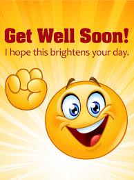 greeting card for sick person cheerful smiley get well card birthday greeting cards by