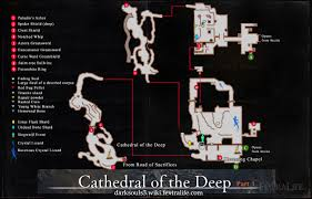 Dark Souls Map Cathedral Of The Deep Dark Souls 3 Wiki