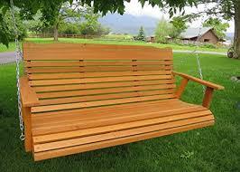 24 coolest cedar porch swings