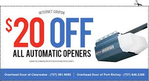 Overhead Door Clearwater Overhead Door Of Clearwater Clearwater Fl Specials