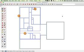 draw a floorplan to scale how to draw a 2d floor plan to scale in sketchup from field